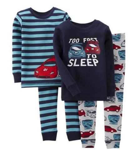 Just One You by Carter's 4 pc sleepwear set