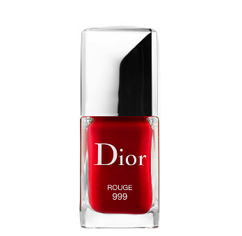 Dior polish in rouge 999