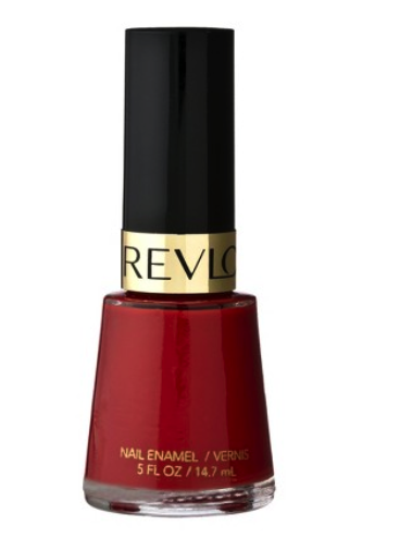 Revlon nail polish in revlon red