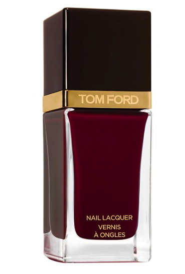 Tom Ford nail polish in bordeaux lust - winter beauty trends 2015
