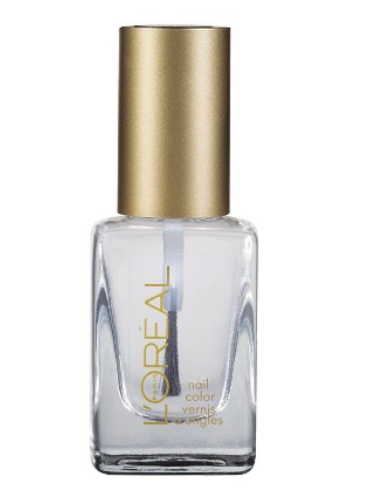 L'Oreal nail polish in top of the line