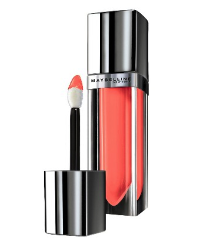 Maybelline lip color in breathtaking apricot