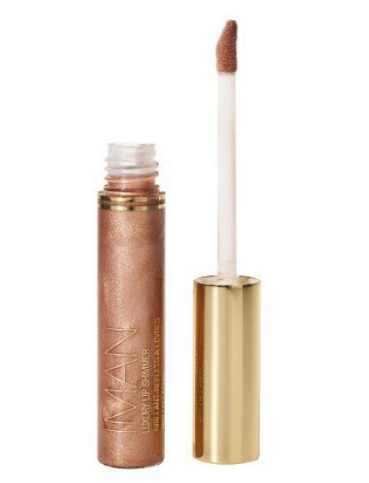 Iman lip shimmer in nude