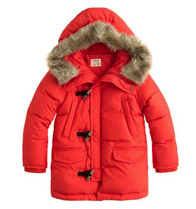 J Crew parka - snow coats