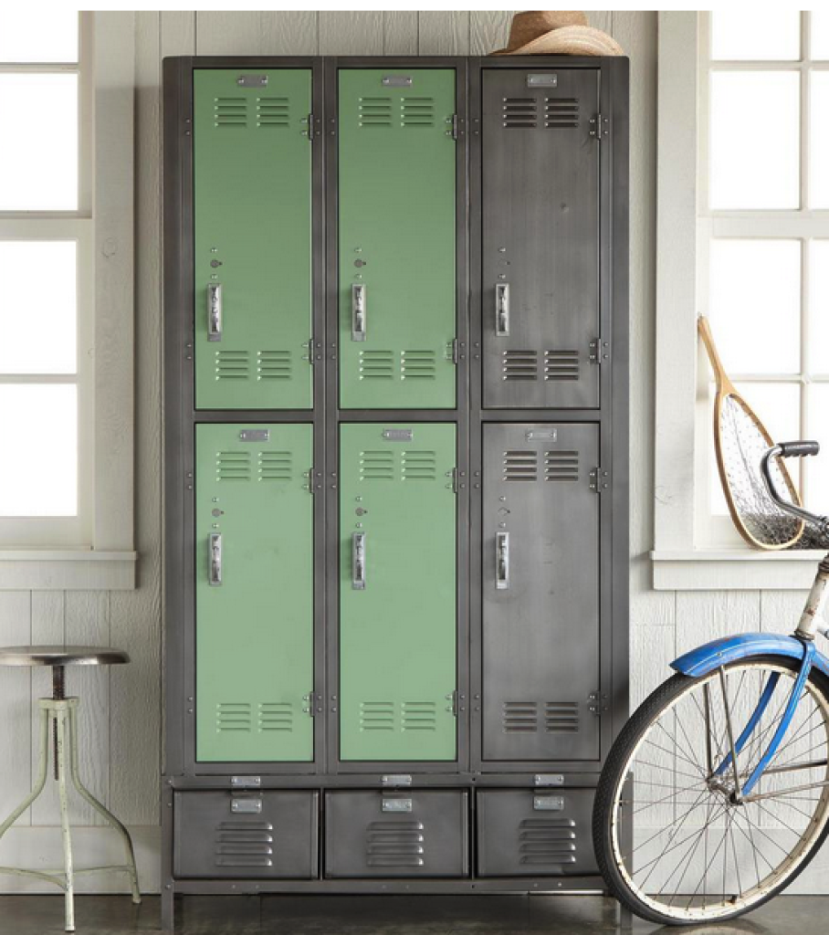 vintage storage lockers