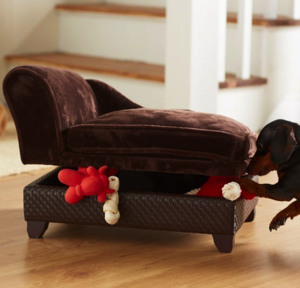Enchanted Home storage dog sofa