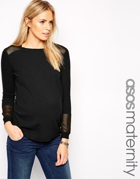 Asos maternity top - pregnancy fashion