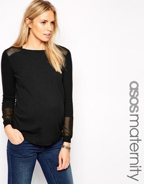 Asos maternity top - pregnancy fashion