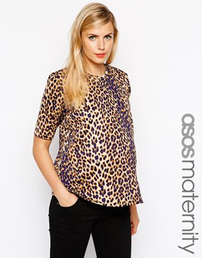 Asos maternity shirt
