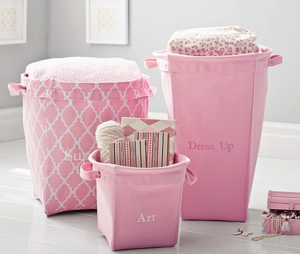 Pottery Barn storage bins