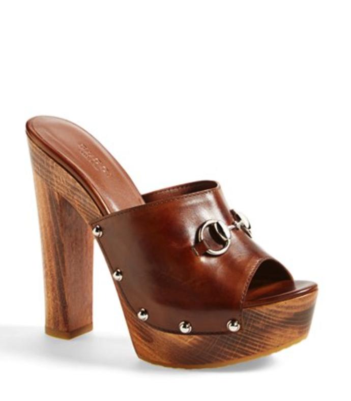 Gucci platform mule