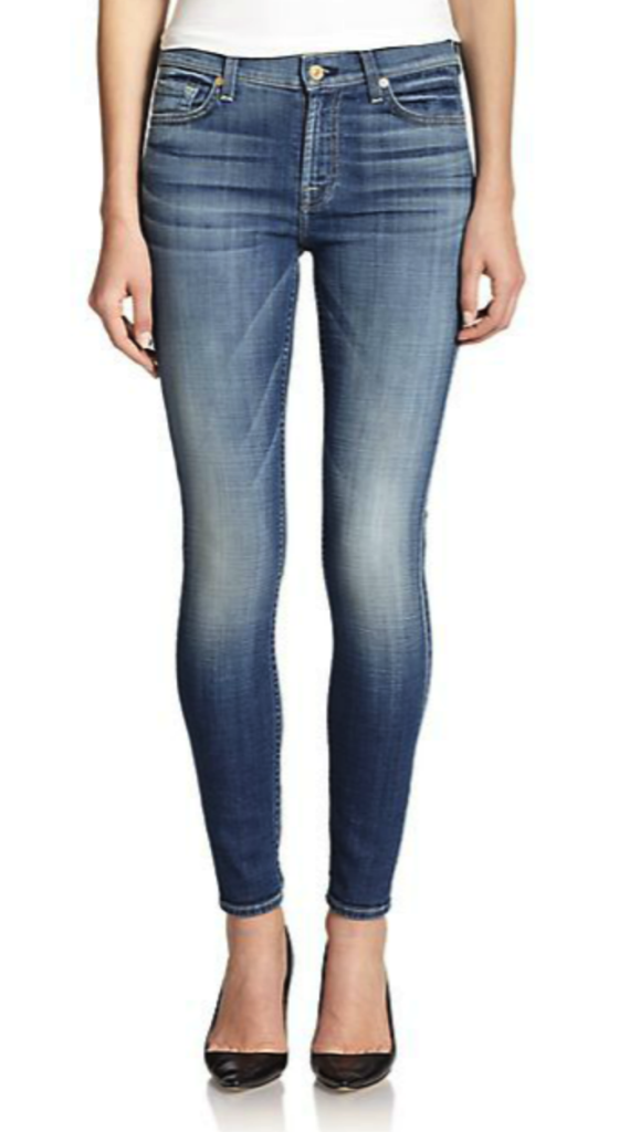7 For All Mankind jeans - skinny jeans