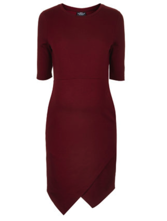 Topshop maternity dress