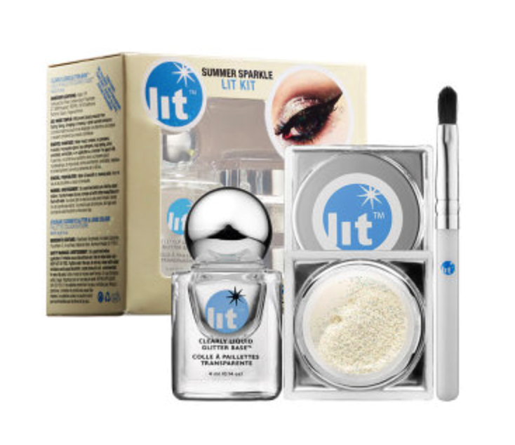 Lit Cosmetics summer sparkle kit