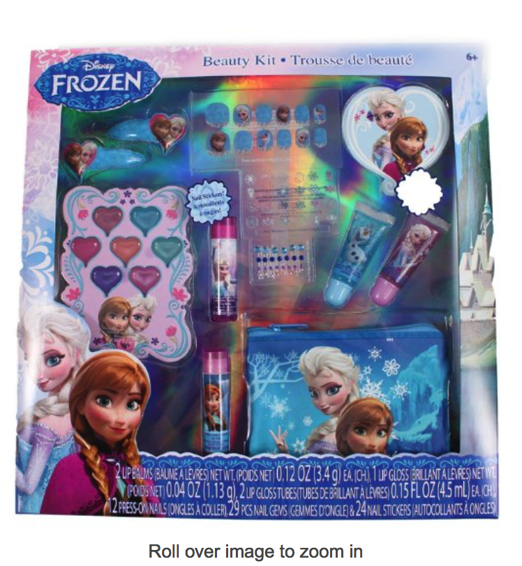 Elsa Frozen 70pc cosmetic set