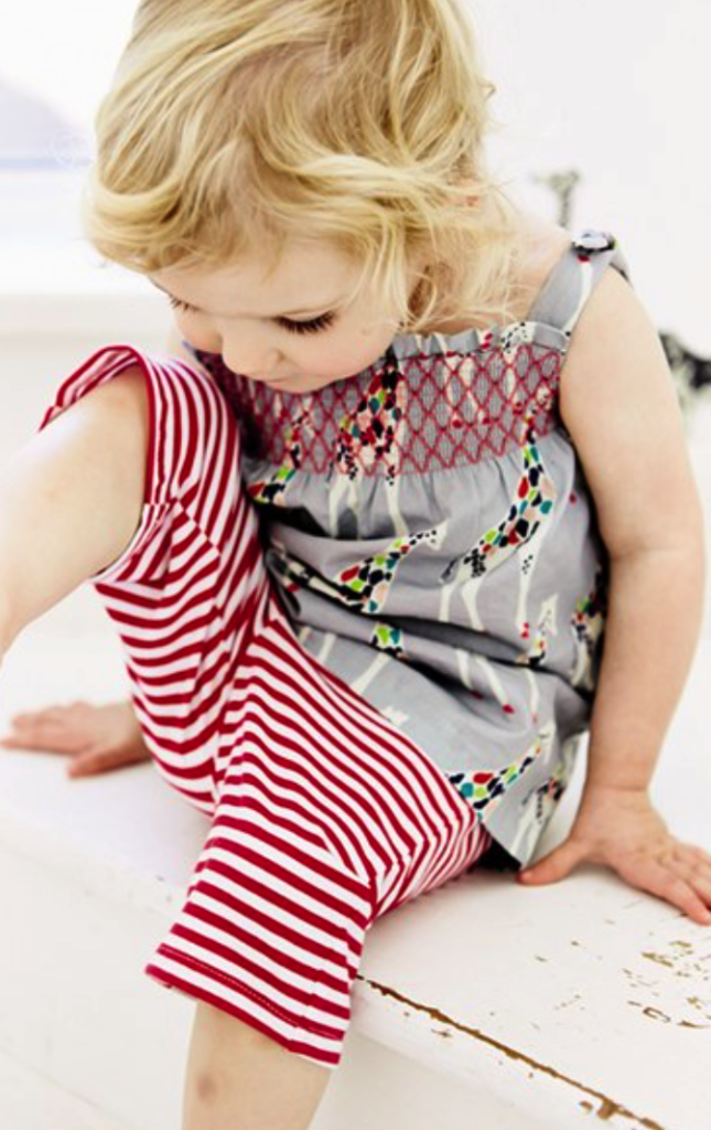 Mini Boden tunic and pants set