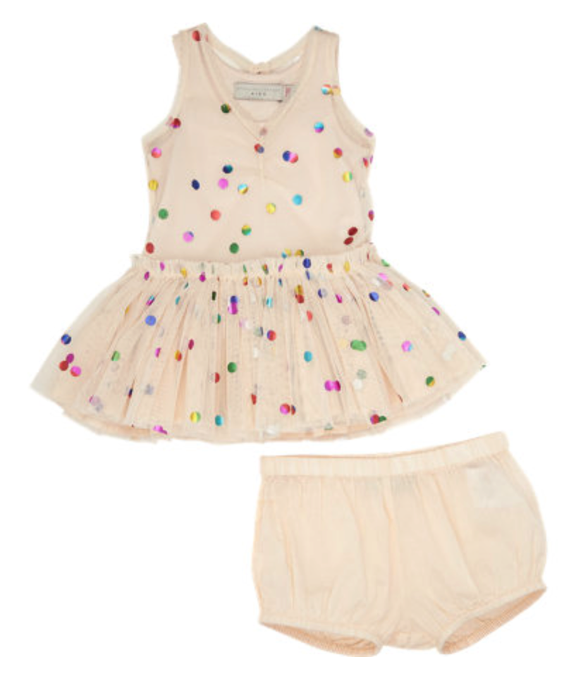 Stella McCartney dress and bloomers