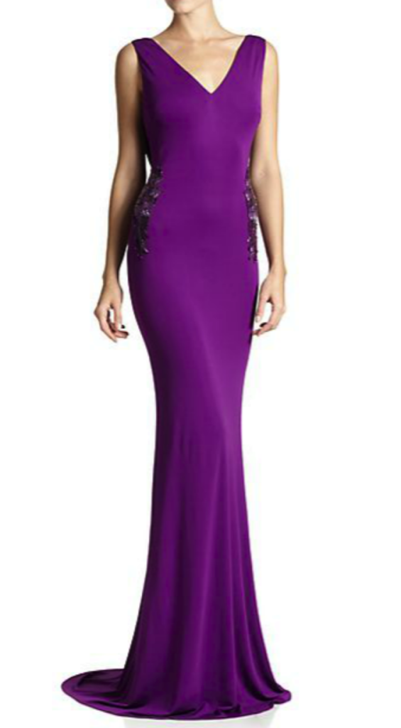 Badgley Mischka gown