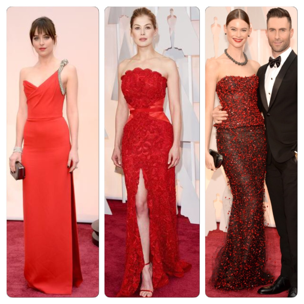 2015 Oscar fashion