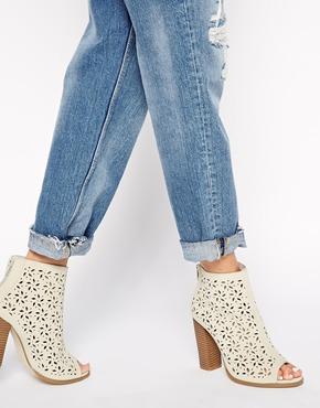 Asos boots - peep toe booties