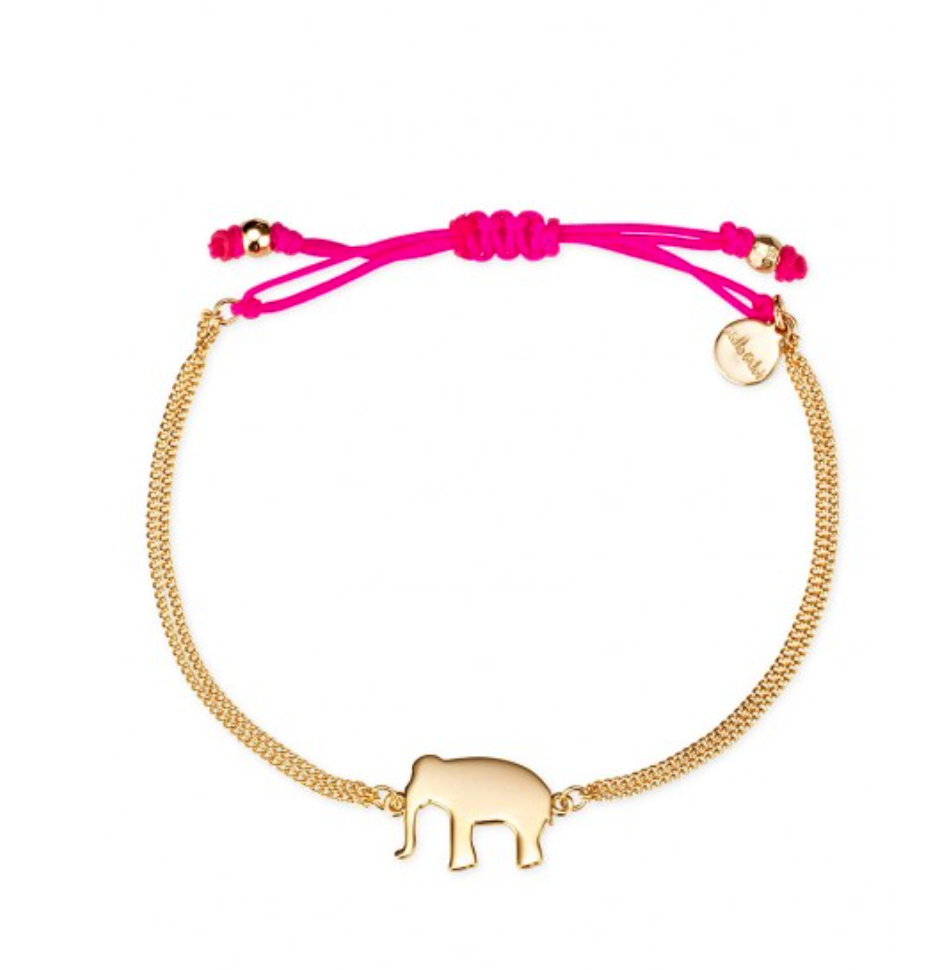 Stella & Dot elephant wishing bracelet