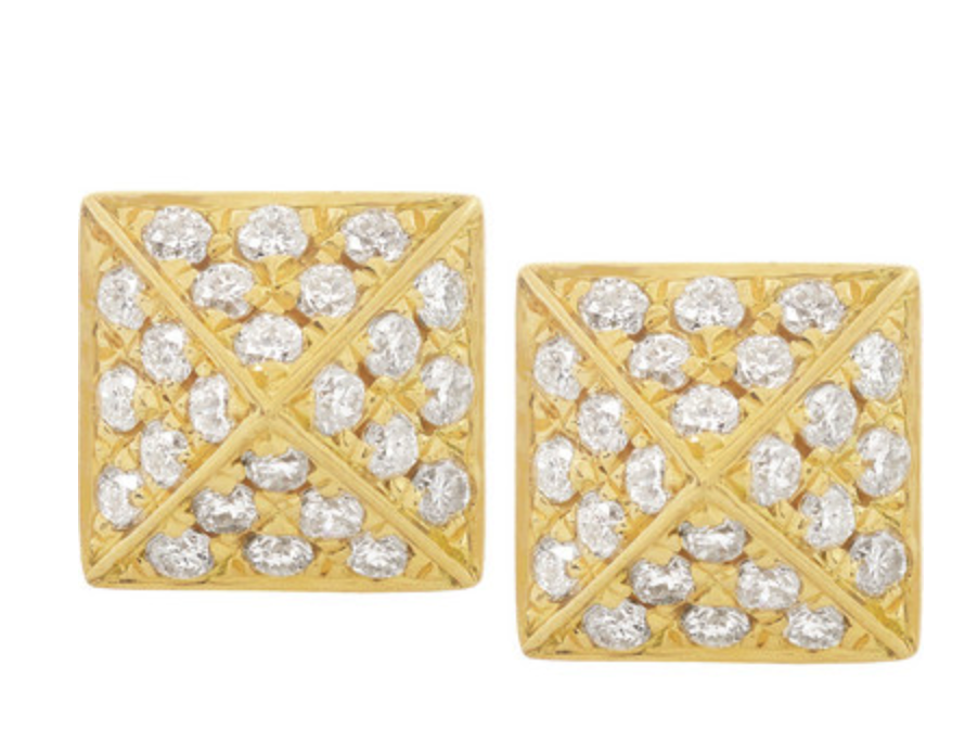 Anita Ko diamond spike earrings