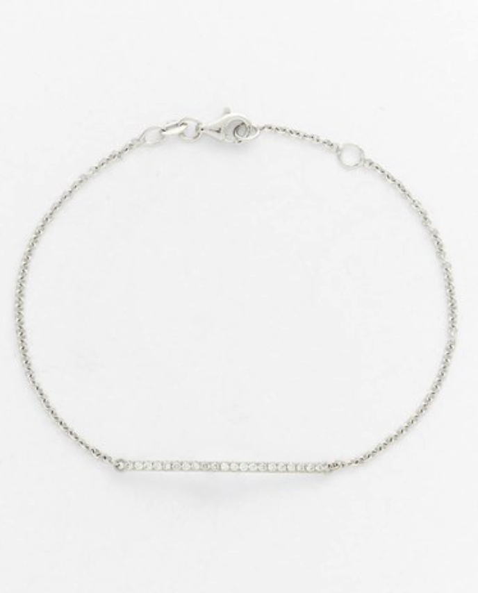 Bony Levy diamond bar bracelet