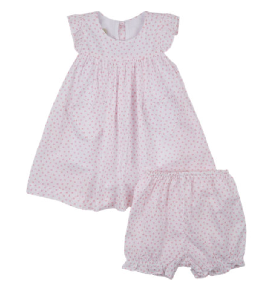 Marco Lizzie dress and bloomers