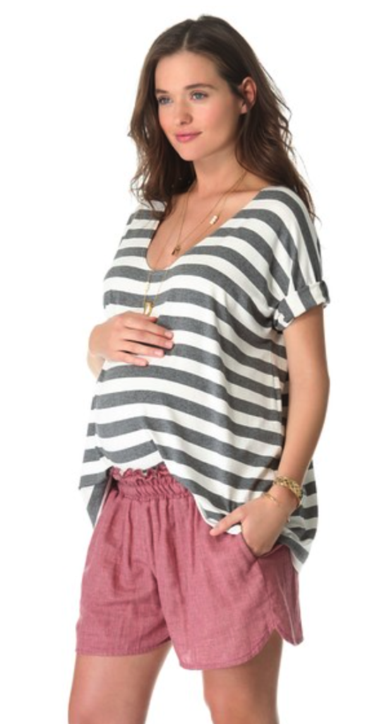 Hatch maternity top