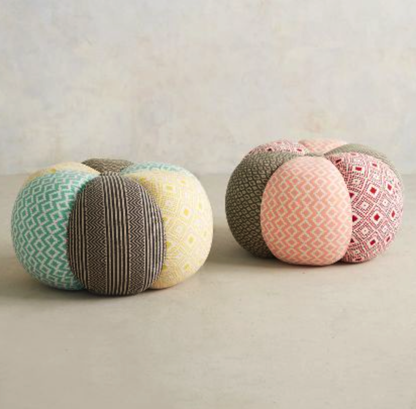 Anthropologie poufs