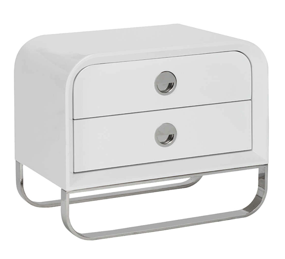Whiteline nightstand
