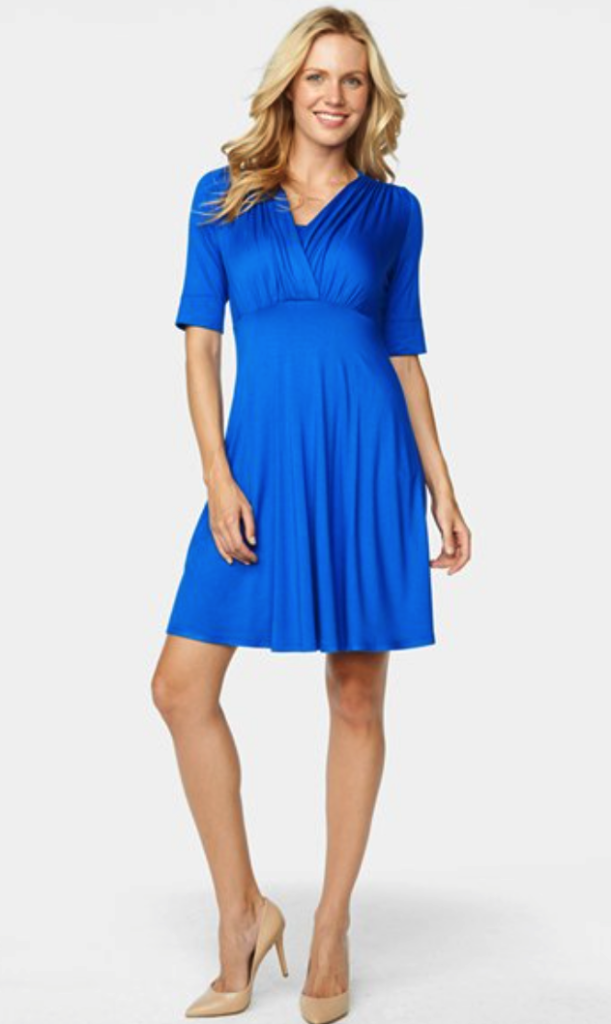 Maternal America maternity/nursing dress
