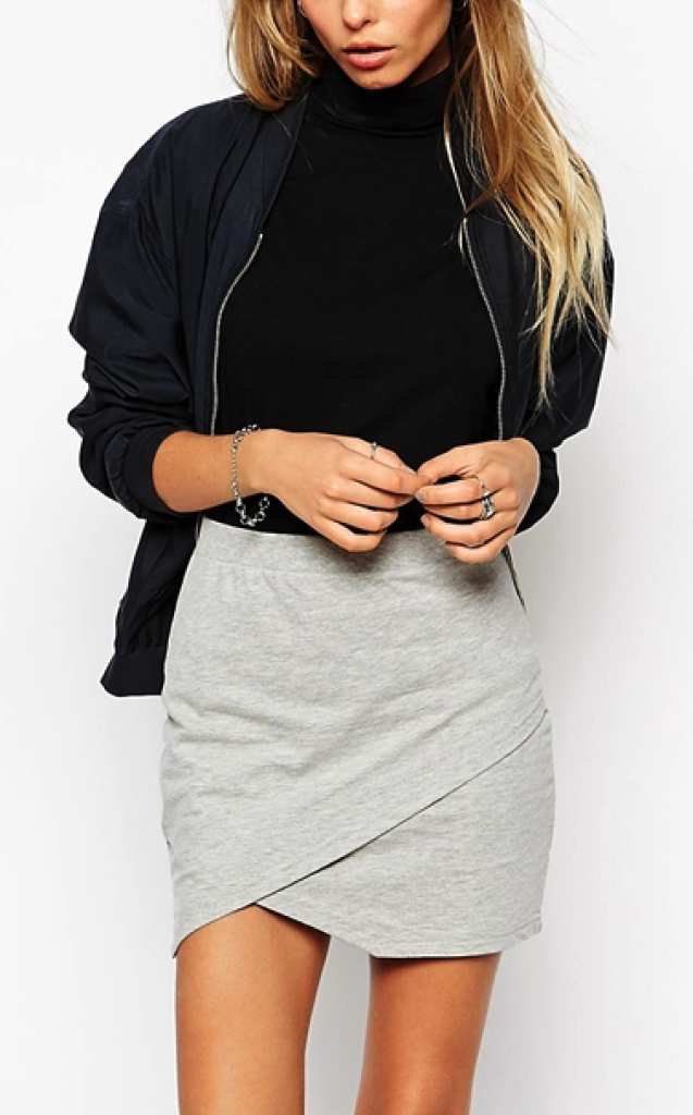 Asos skirt - grey clothes