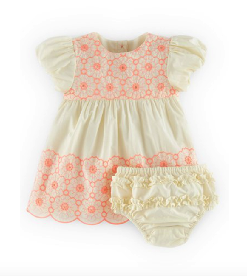 Mini Boden dress and bloomers