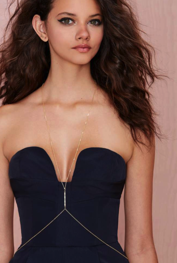 Nasty Gal body chain - jewelry reinvented