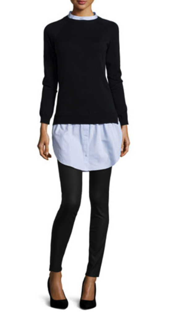 Carven sweater/shirtdress
