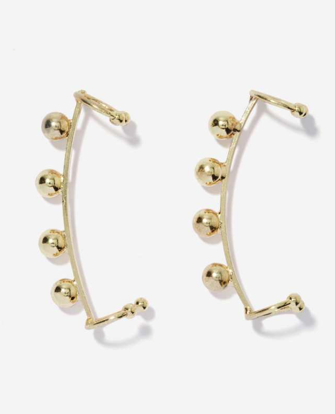 Nasty Gal ear cuffs