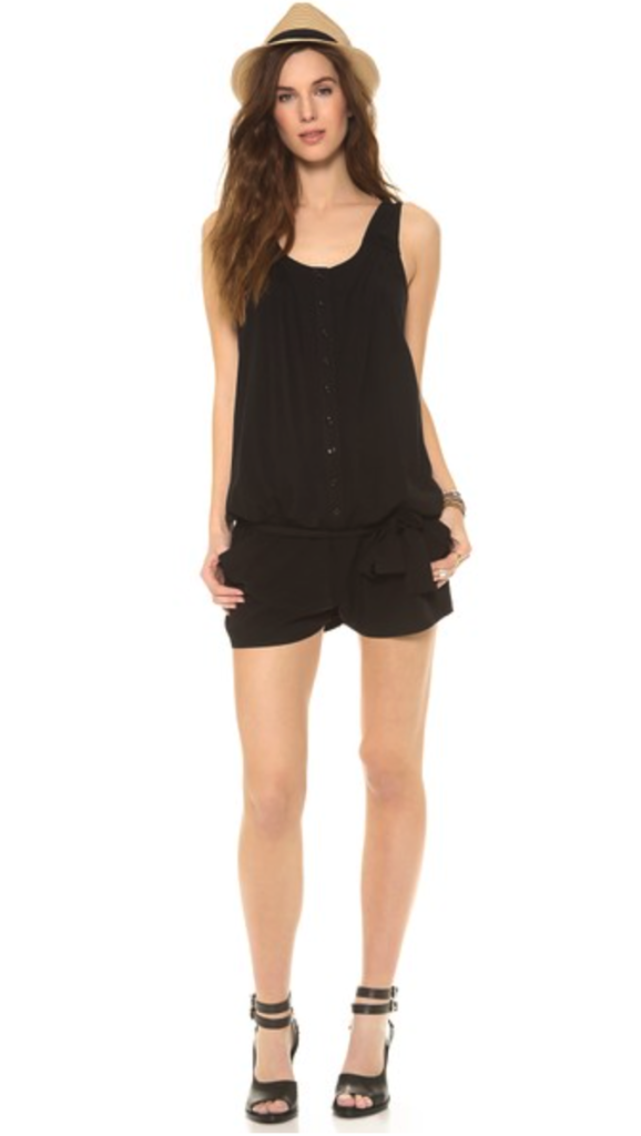 Rosie Pope maternity romper - stylish maternity clothes