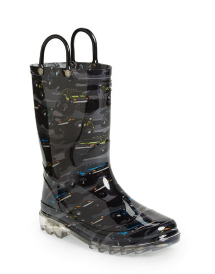 Western Chief light up rain boots
