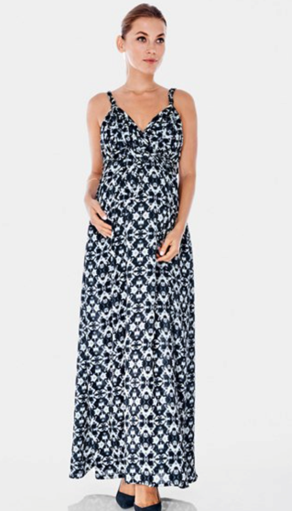 Imanino maternity maxi dress