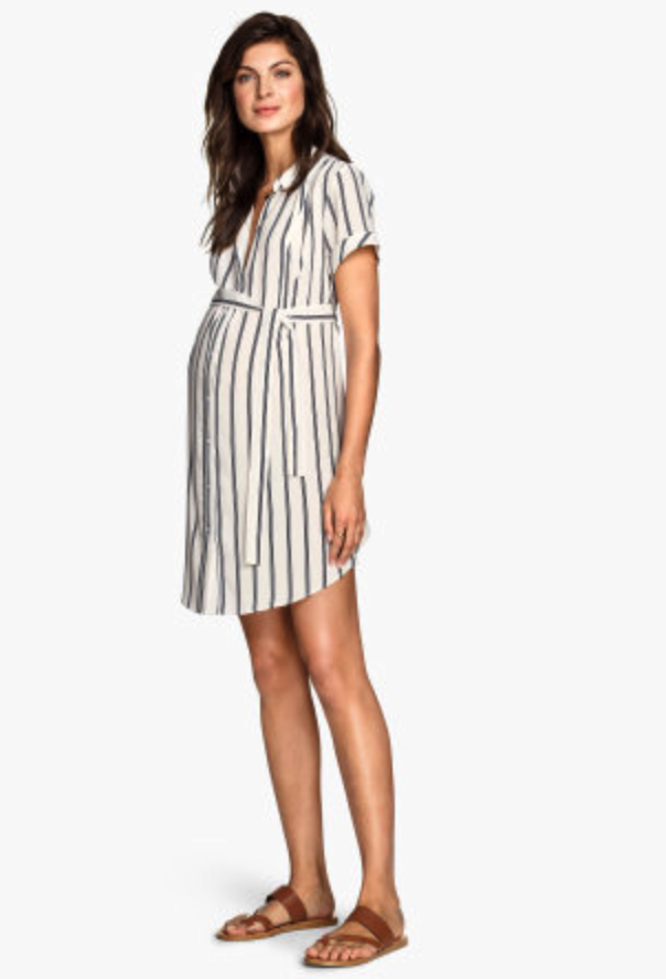 H&M maternity dress