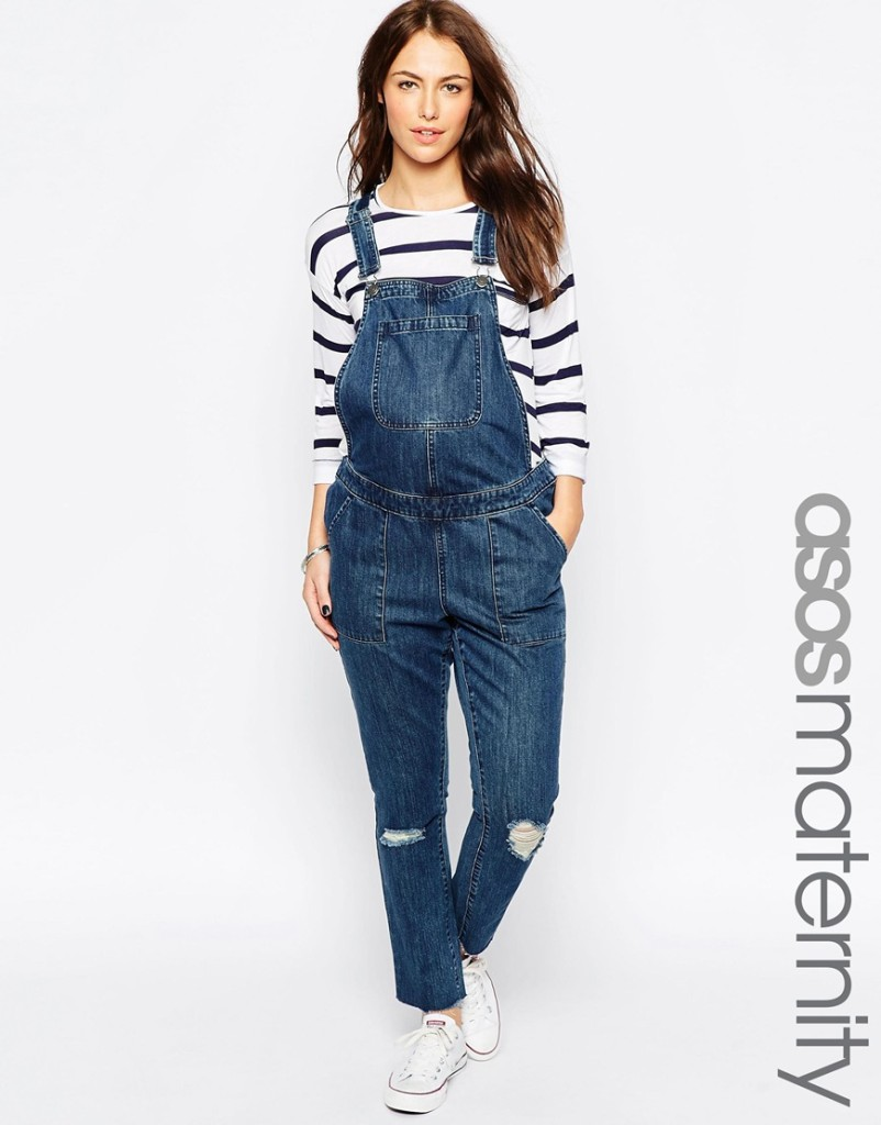 Asos maternity overalls