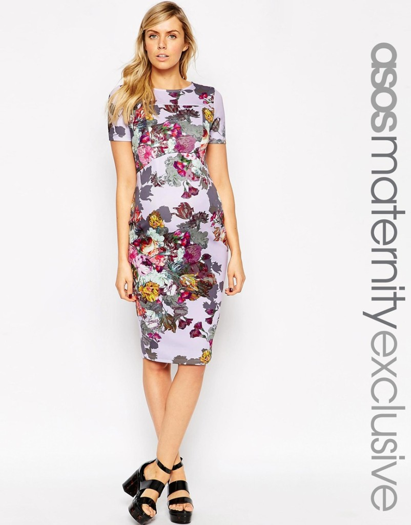 Asos maternity dress