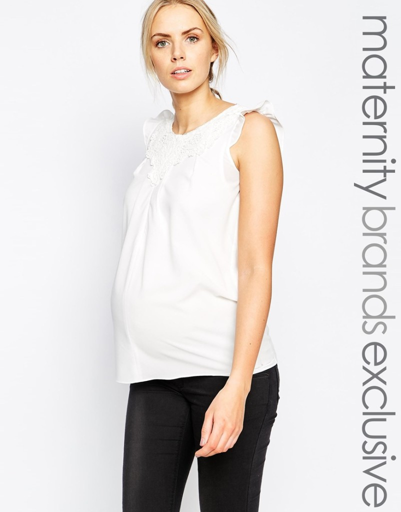 Mamalicious maternity/nursing top
