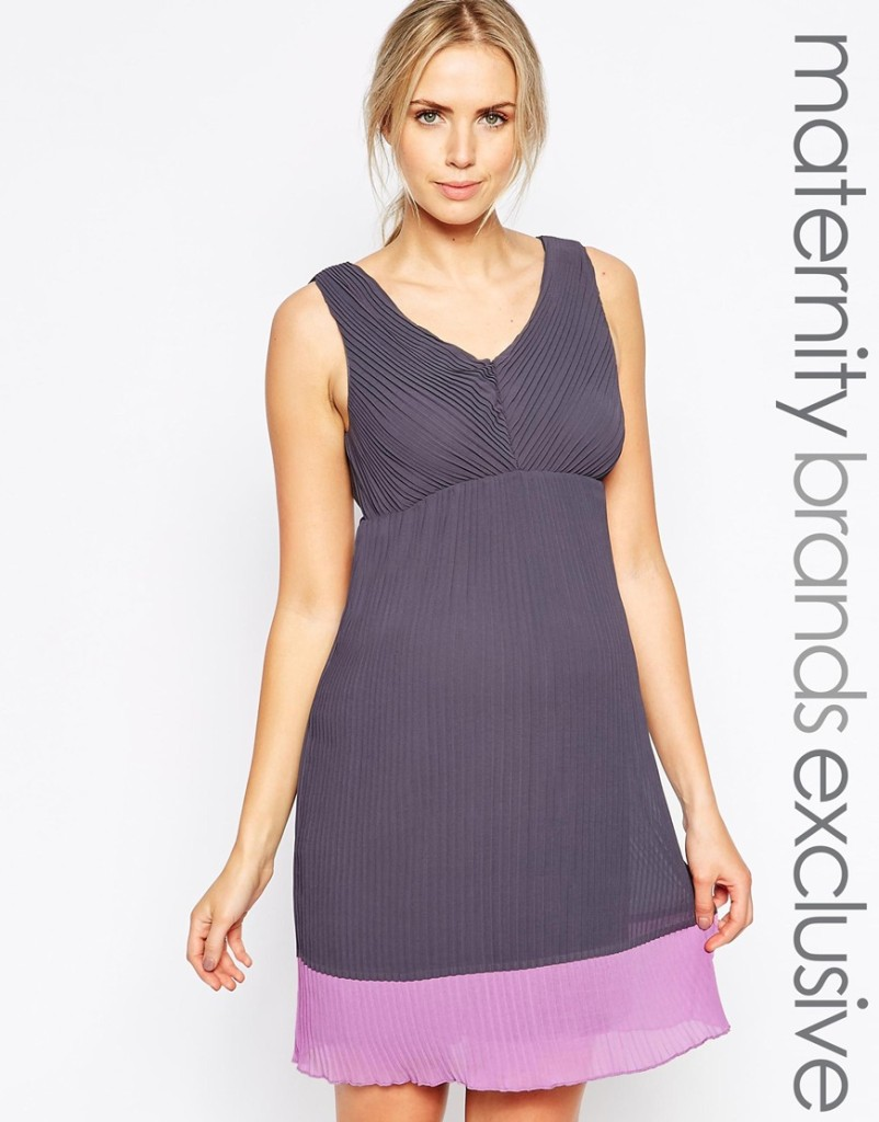 Mamalicious maternity dress - pregnancy chic