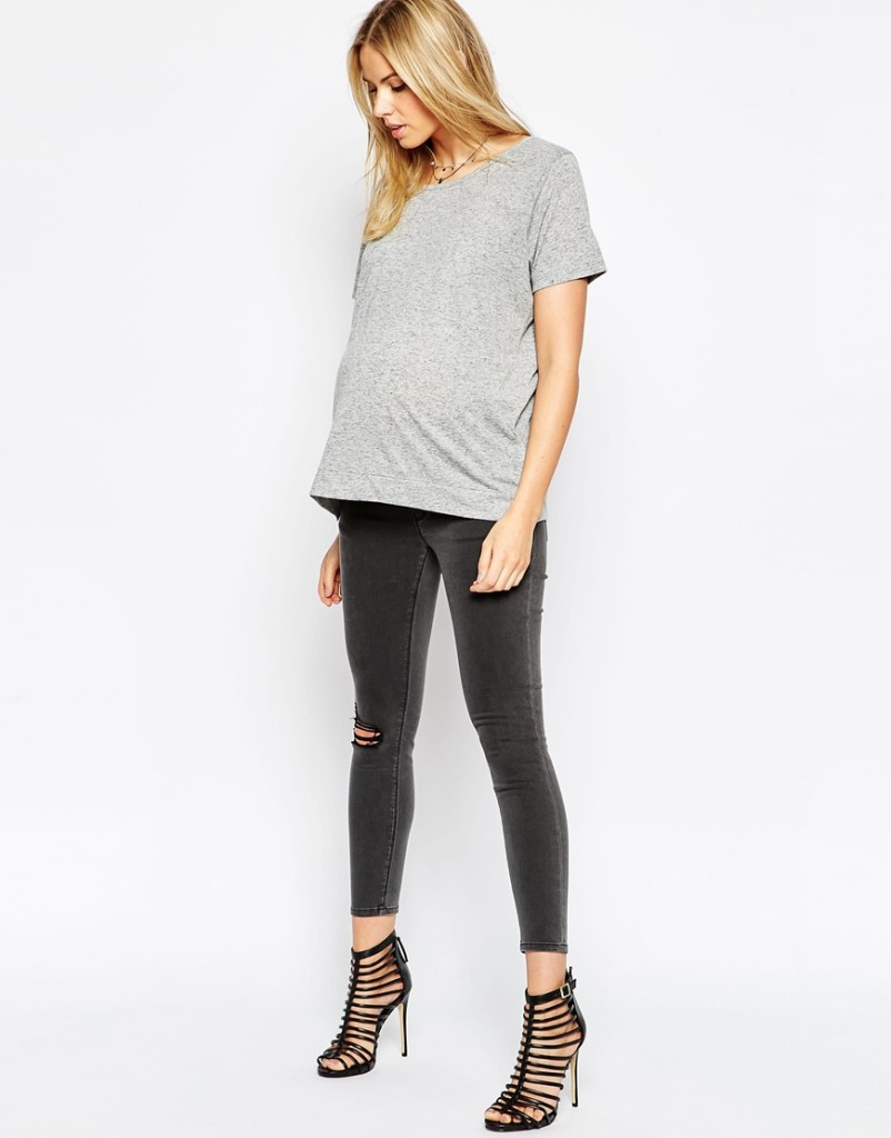 Asos maternity jeans