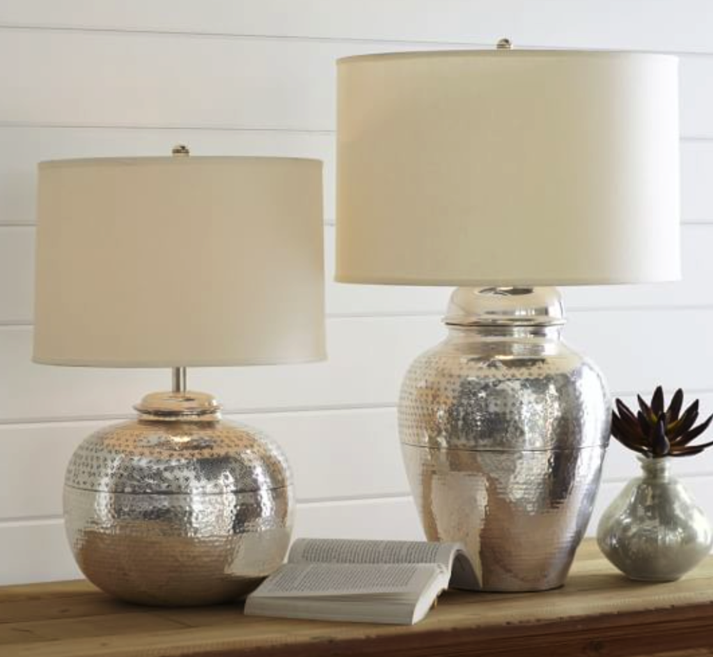 Pierce bedside lamps