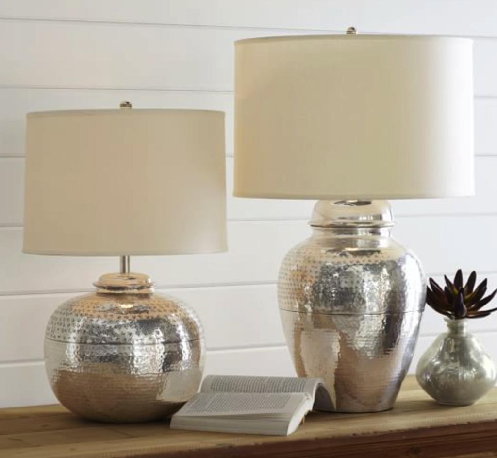 Pierce bedside lamps