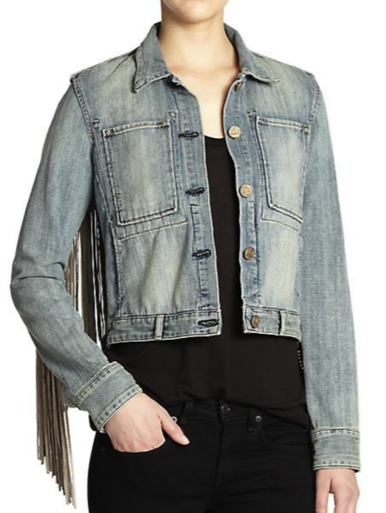 McGuire fringe denim jacket