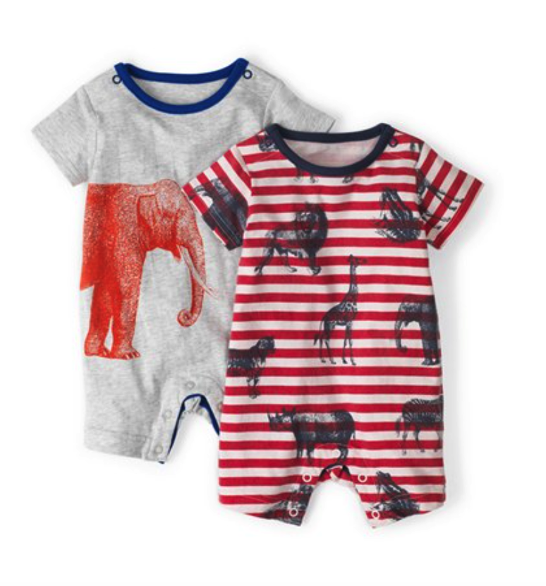 Mini Boden rompers (set of 2)